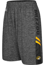 Missouri Tigers Youth Colosseum Summer School Shorts - Charcoal