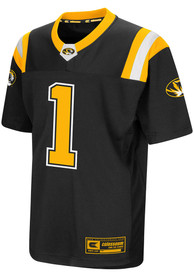 Missouri Tigers Youth Colosseum Foos-Ball Football Jersey - Black