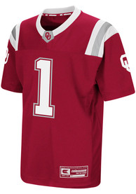 Oklahoma Sooners Youth Colosseum Foos-Ball Football Jersey - Crimson