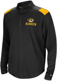 Missouri Tigers Youth Colosseum 99 Yards Quarter Zip - Black