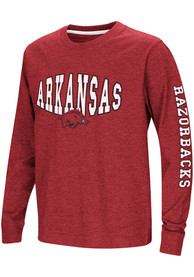 Arkansas Razorbacks Youth Colosseum Spike T-Shirt - Cardinal