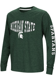 Michigan State Spartans Youth Colosseum Spike T-Shirt - Green