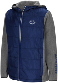 Penn State Nittany Lions Youth Colosseum Murphy Heavy Weight Jacket - Navy Blue