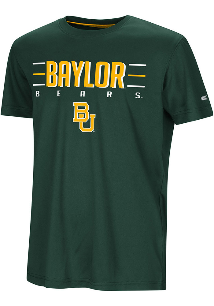 Colosseum Baylor Bears Youth Green Anytime Anywhere Short Sleeve T-Shirt - Image 1