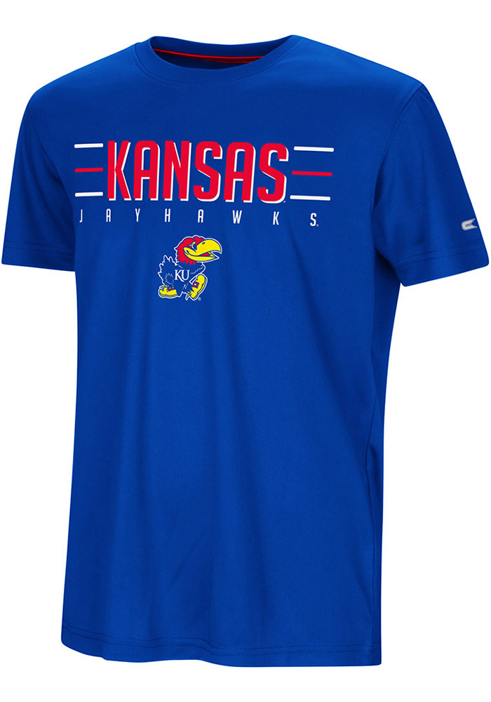 Kansas Jayhawks Youth Colosseum Anytime Anywhere T-Shirt - Blue