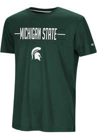 Michigan State Spartans Youth Colosseum Anytime Anywhere T-Shirt - Green