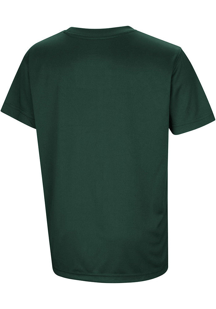 Colosseum Michigan State Spartans Youth Green Anytime Anywhere Short Sleeve T-Shirt - Image 2
