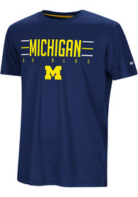 Michigan Wolverines Youth Colosseum Anytime Anywhere T-Shirt - Navy Blue