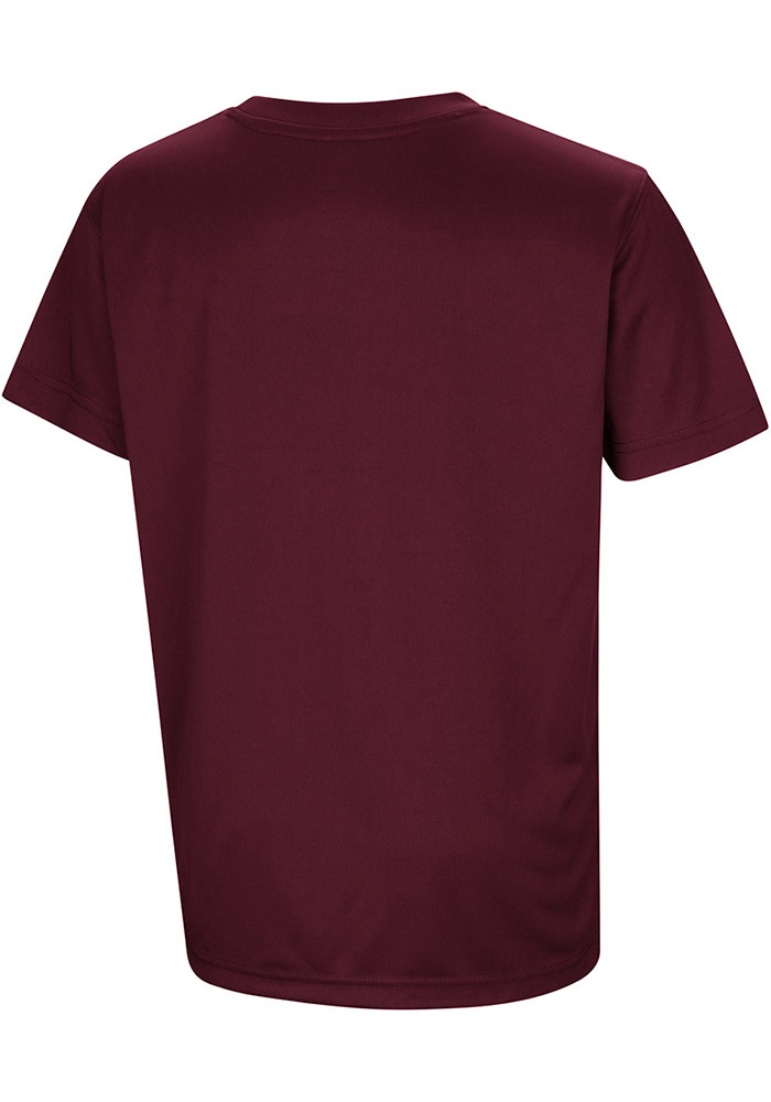Colosseum Texas A&M Aggies Youth Maroon Anytime Anywhere Short Sleeve T-Shirt - Image 2