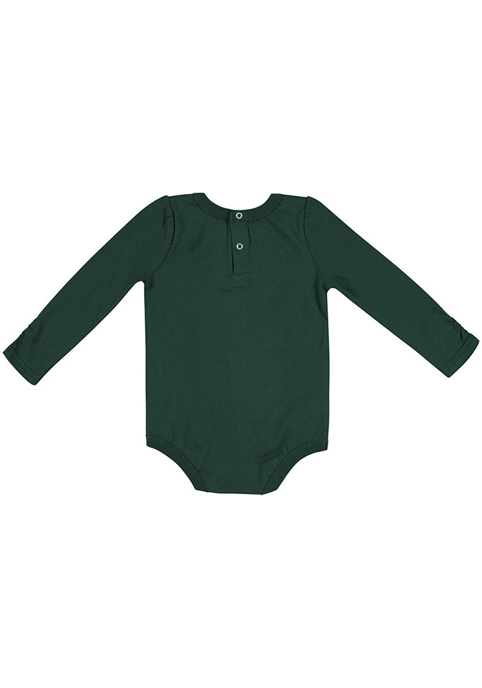 Colosseum Michigan State Spartans Baby Green Its Still Good LS Tops LS One Piece - Image 2