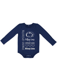 Penn State Nittany Lions Baby Colosseum Its Still Good LS One Piece - Navy Blue