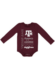 Texas A&M Aggies Baby Colosseum Its Still Good LS One Piece - Maroon