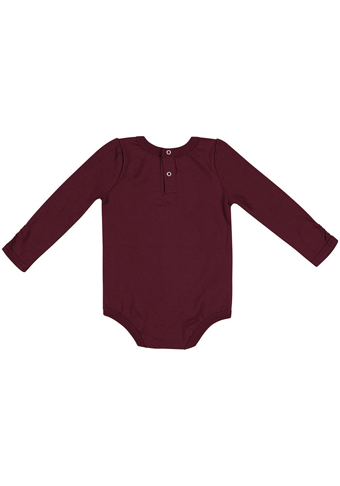 Colosseum Texas A&M Aggies Baby Maroon Its Still Good LS Tops LS One Piece - Image 2