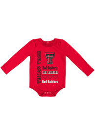 Texas Tech Red Raiders Baby Colosseum Its Still Good LS One Piece - Red