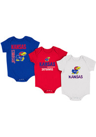 Kansas Jayhawks Baby Blue Ahhhhh One Piece