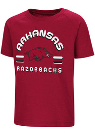Colosseum Arkansas Razorbacks Toddler Cardinal Cowboys T-Shirt