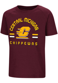 Colosseum Central Michigan Chippewas Toddler Maroon Cowboys T-Shirt