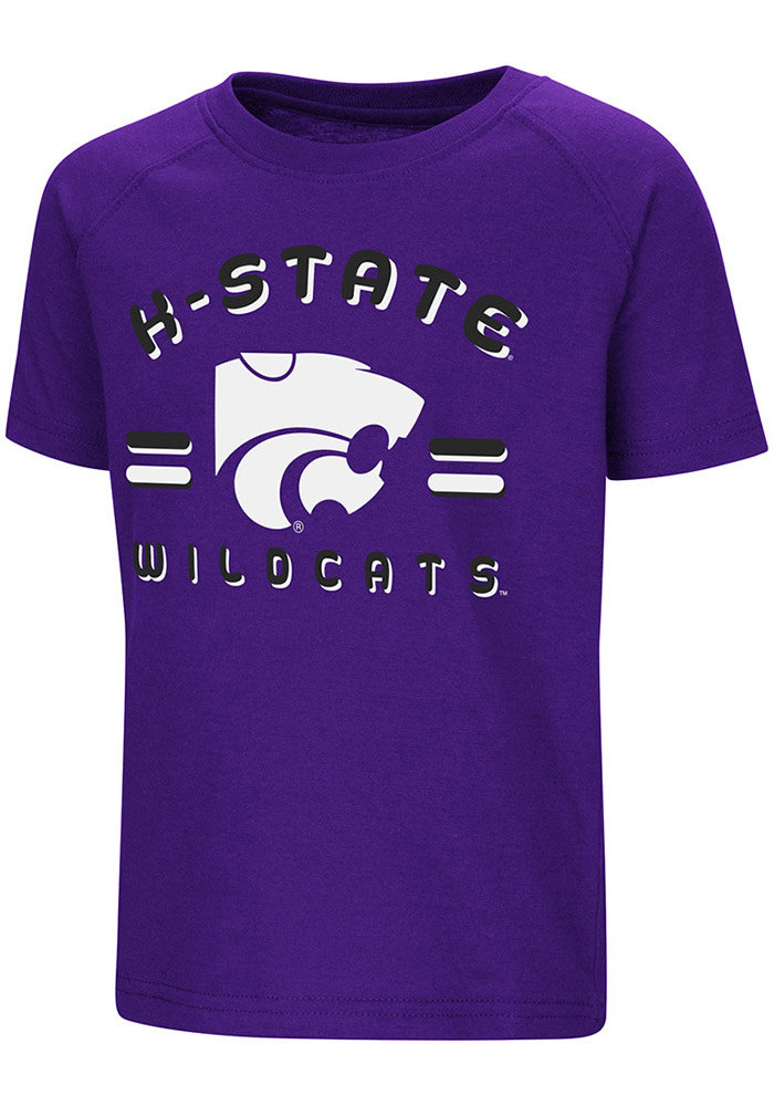 Colosseum K-State Wildcats Toddler Purple Cowboys Short Sleeve T-Shirt - Image 1
