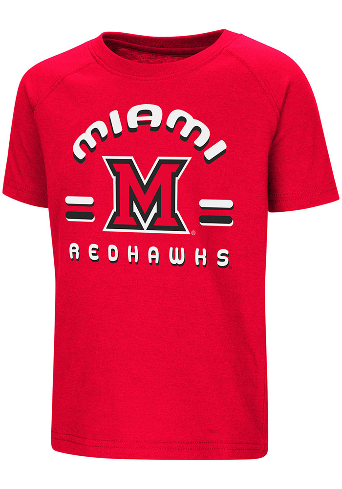 Colosseum Miami Redhawks Toddler Red Cowboys Short Sleeve T-Shirt - Image 1