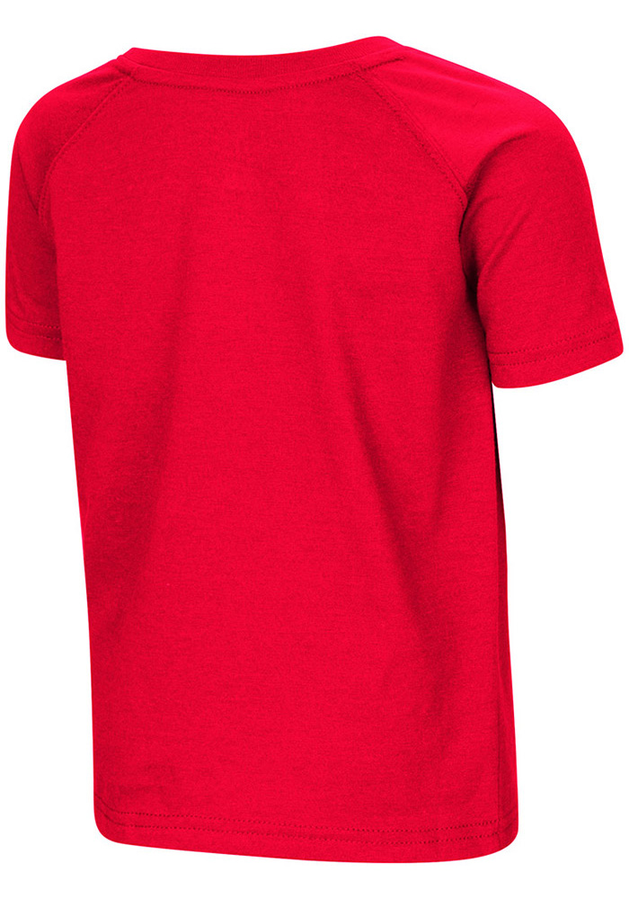 Colosseum Miami Redhawks Toddler Red Cowboys Short Sleeve T-Shirt - Image 2