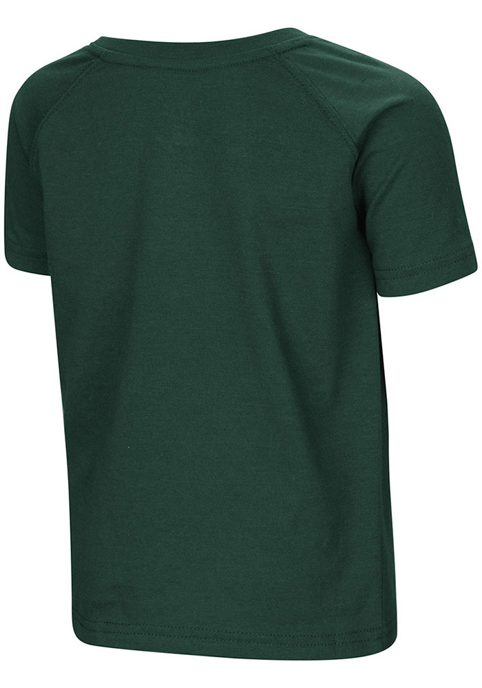 Colosseum Michigan State Spartans Toddler Green Cowboys Short Sleeve T-Shirt - Image 2