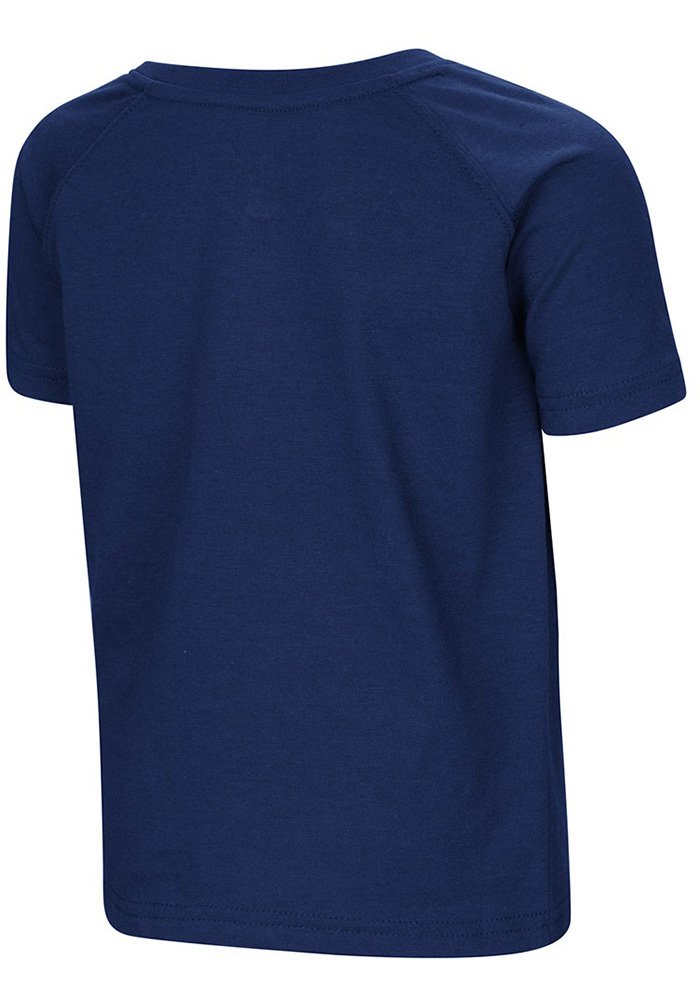 Colosseum West Virginia Mountaineers Toddler Blue Cowboys Short Sleeve T-Shirt - Image 2
