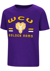 Colosseum West Chester Golden Rams Toddler Purple Cowboys T-Shirt