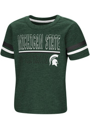 Colosseum Michigan State Spartans Toddler Green You Rang Short Sleeve T-Shirt