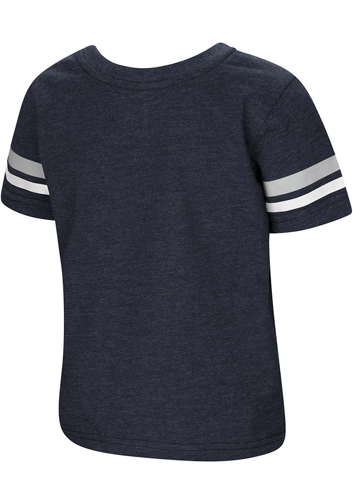 Colosseum Penn State Nittany Lions Toddler Navy Blue You Rang Short Sleeve T-Shirt - Image 2