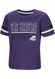 TCU Horned Frogs Toddler Colosseum You Rang T-Shirt - Purple