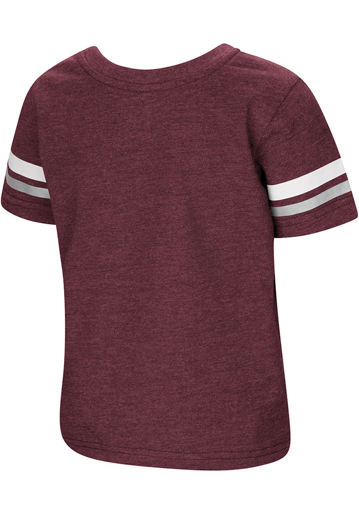 Colosseum Texas A&M Aggies Toddler Maroon You Rang Short Sleeve T-Shirt - Image 2