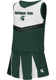 Colosseum Michigan State Spartans Toddler Girls Green Pom Pom Sets Cheer