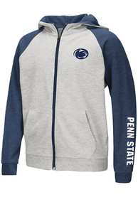 Penn State Nittany Lions Youth Colosseum Parabolic Full Zip Jacket - Grey