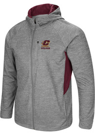 Central Michigan Chippewas Colosseum All Them Teeth Zip - Grey