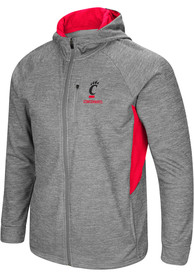 Cincinnati Bearcats Colosseum All Them Teeth Zip - Grey
