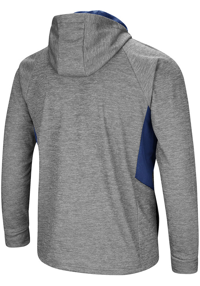 Colosseum Penn State Nittany Lions Mens Grey All Them Teeth Long Sleeve Zip - Image 2