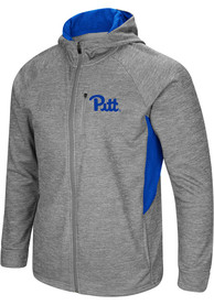 Pitt Panthers Colosseum All Them Teeth Zip - Grey