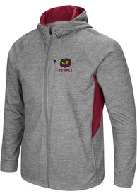 Temple Owls Colosseum All Them Teeth Zip - Grey