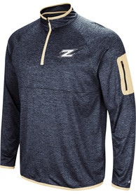 Akron Zips Colosseum Amnesia 1/4 Zip Pullover - Navy Blue