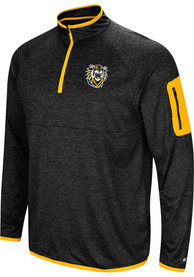 Fort Hays State Tigers Colosseum Amnesia 1/4 Zip Pullover - Charcoal