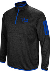 Pitt Panthers Colosseum Amnesia 1/4 Zip Pullover - Charcoal