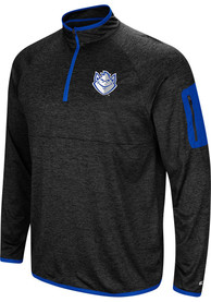 Saint Louis Billikens Colosseum Amnesia 1/4 Zip Pullover - Charcoal