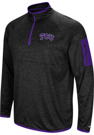 TCU Horned Frogs Colosseum Amnesia 1/4 Zip Pullover - Charcoal