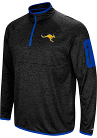 UMKC Roos Colosseum Amnesia 1/4 Zip Pullover - Charcoal