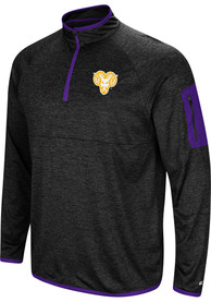 West Chester Golden Rams Colosseum Amnesia 1/4 Zip Pullover - Charcoal