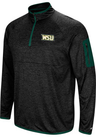 Wright State Raiders Colosseum Amnesia 1/4 Zip Pullover - Charcoal