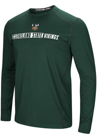 Cleveland State Vikings Colosseum Bayous T-Shirt - Green