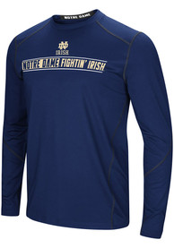 Notre Dame Fighting Irish Colosseum Bayous T-Shirt - Navy Blue