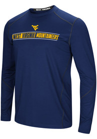 West Virginia Mountaineers Colosseum Bayous T-Shirt - Navy Blue