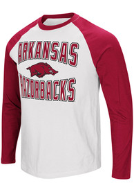 Arkansas Razorbacks Colosseum Cajun T Shirt - White